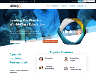 dialogedu.com screenshot