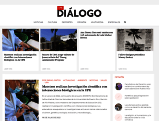 dialogodigital.upr.edu screenshot