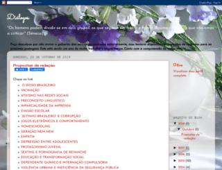 dialogoeducacional.blogspot.com.br screenshot