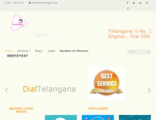 dialtelangana.info screenshot