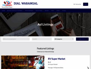 dialwarangal.com screenshot