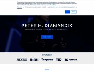 diamandis.com screenshot