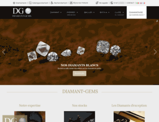 diamant-gems.com screenshot