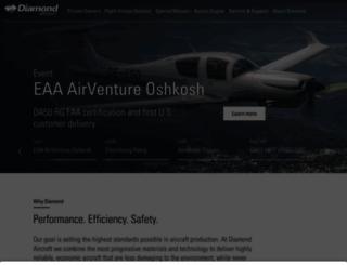 diamond-air.at screenshot