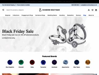 diamond-boutique.co.uk screenshot