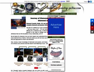 diamond-jewelry-pedia.com screenshot