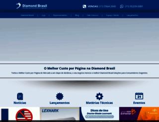 diamondbrasil.com screenshot