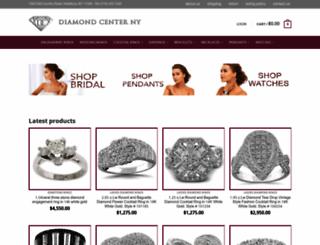 diamondcenterofny.com screenshot