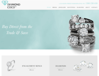 diamondcoco.com.au screenshot