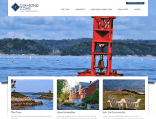 diamondcove.com screenshot