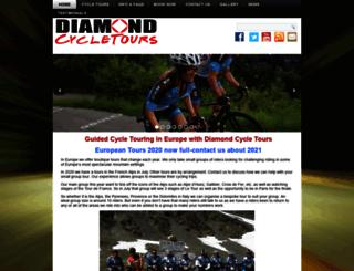 diamondcycletours.com screenshot