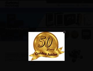 diamondelectricals.com screenshot