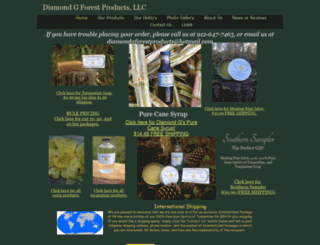 diamondgforestproducts.com screenshot