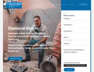 diamondgleam.co.uk screenshot