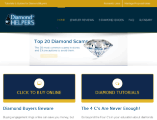 diamondhelpers.com screenshot