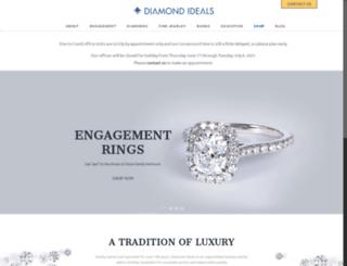 diamondideals.com screenshot