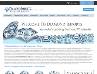 diamondimports.com.au screenshot