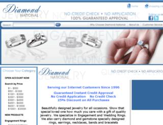 diamondnational.com screenshot