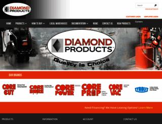 diamondproducts.com screenshot