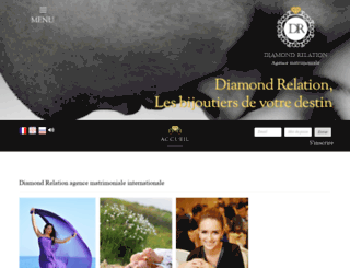 diamondrelation.be screenshot