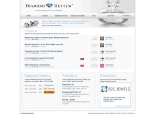 diamondreview.com screenshot