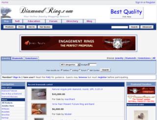 diamondring.com screenshot