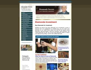 diamonds-secrets.com screenshot