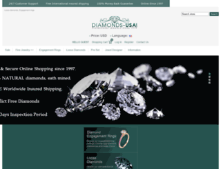 diamonds-usa.com screenshot