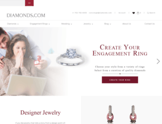 diamonds.com screenshot