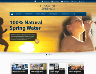 diamondsprings.com screenshot