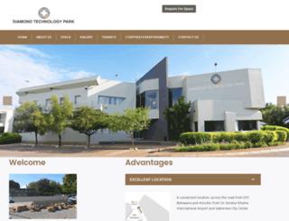 diamondtechnologypark.com screenshot