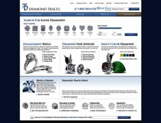 diamondtraces.com screenshot