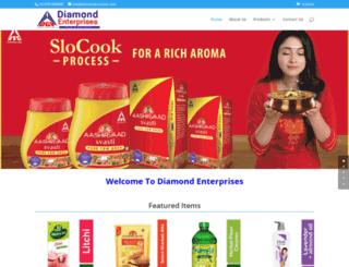 diamondtuticorin.com screenshot