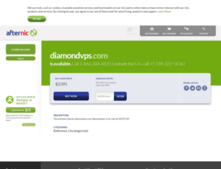 diamondvps.com screenshot