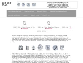diamorediamonds.com screenshot