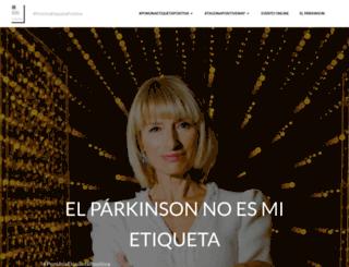 diamundialdelparkinson.org screenshot