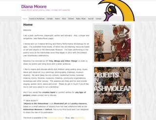 diana-moore.com screenshot