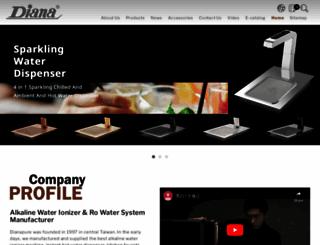 diana-pure.com screenshot