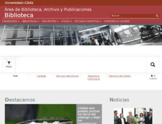 diana.uca.es screenshot