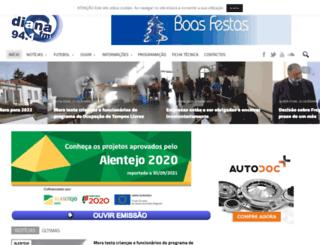 dianafm.com screenshot