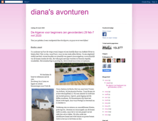 dianasavonturen.blogspot.se screenshot