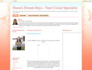 dianasdreamdays.blogspot.com screenshot
