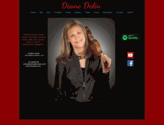 dianedelin.com screenshot