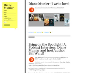 dianemunier.com screenshot