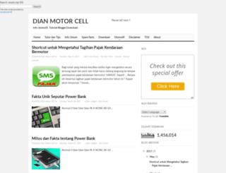 dianmotorcell.blogspot.com screenshot