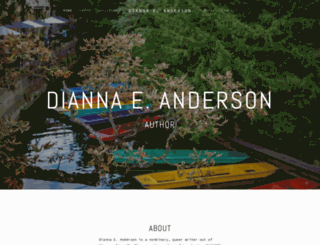 diannaeanderson.net screenshot