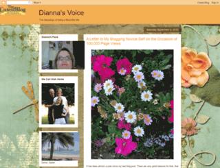 diannasvoice.blogspot.co.uk screenshot