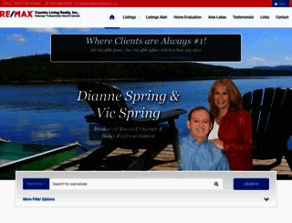 diannespring.com screenshot