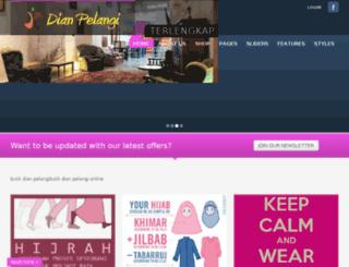 dianpelangibutik.com screenshot