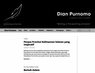 dianpurnomo.com screenshot